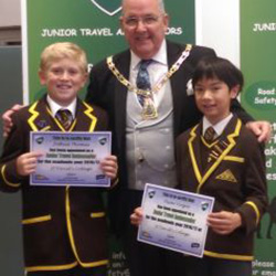 Travel Ambassadors meet the Mayor!