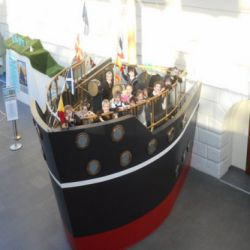 Year 2 visit the National Maritime Museum