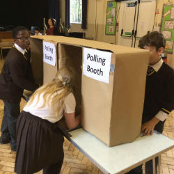 General Election at St David's